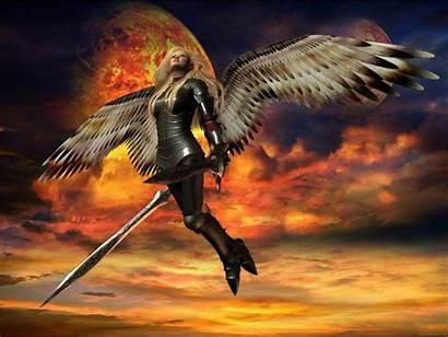 Warrior Angel Fantasy Wallpapers Backgrounds Desktop Angels
