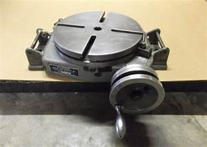 Bridgeport Milling Machine 12 U0026quot  Rotary Table