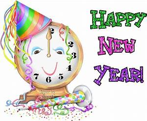 60 Happy New Year 2018 Animated Gif Images (Moving Pics