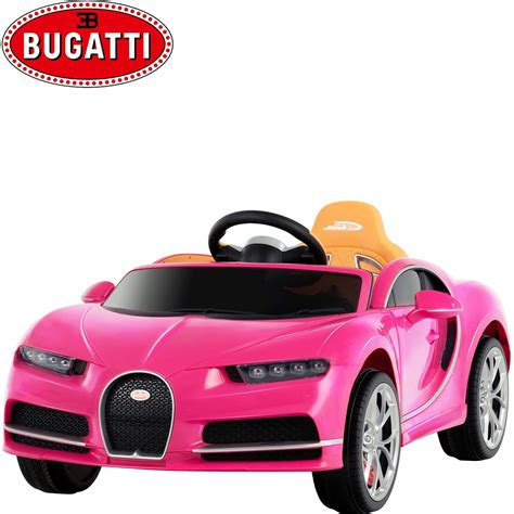 Bugatti has made some of the most coveted cars in history. Uenjoy 12V Licensed Bugatti Chiron Kids Ride On Car ...