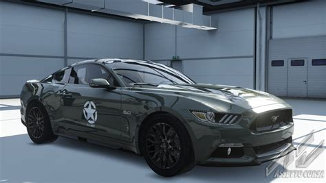 ford mustang   army skin racedepartment latest
