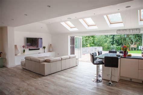 kitchen designs contemporary rear house extension whitchurch builder ben