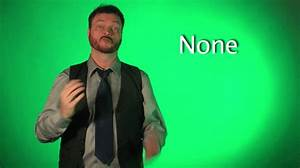 Sign Language N... None
