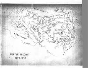 Bertie County North Carolina Map