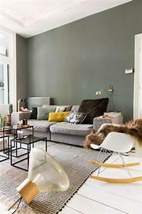 Salon Vert De Gris : 1001 id es d co pour illuminer l 39 int rieur avec la ~ Melissatoandfro.com Idées de Décoration