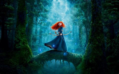 Animated Princess Wallpapers - wallpaper brave animation princess merida pixar 4k 8k