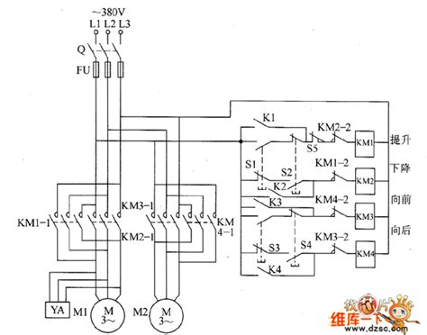 Remote For Overhead Crane Wiring Diagram by Remote Electric Hoist Circuit Diagram 1