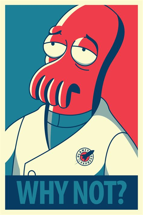 Zoidberg Meme - five charming futurama propaganda posters