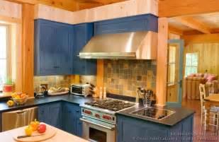 Log Cabin Kitchen Backsplash Ideas by Log Home Kitchens Pictures Amp Design Ideas
