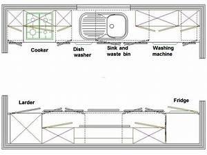 Galley Kitchen Layout / design bookmark #15026