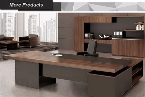 modern executive table design office l shape table office