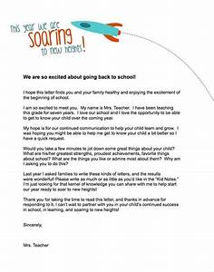 teacher templates letters parents currix back to With parent letter from teacher template