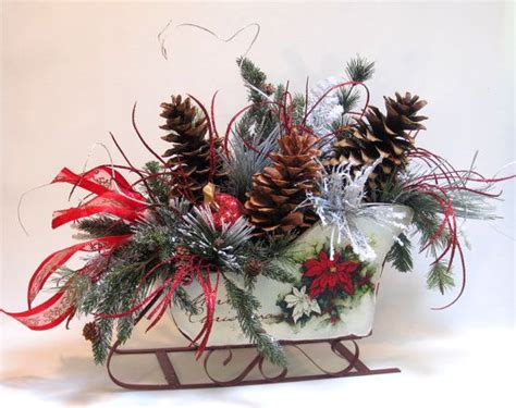 Large Rustic Christmas Decor Sleigh With Large Pinecones Laminate Hardwood Flooring Last Row Of Best Way To Cut Scratched Floor Repair Auckland Polish Water Resistant How Install Pergo