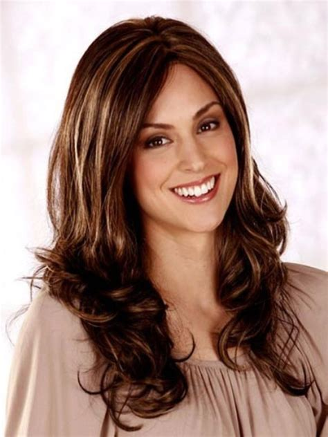 easy   long hairstyles  thick hair   face shapes    incredible
