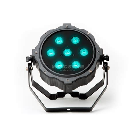 Lade Led H7 by Marq Lighting Gamutpar H7 Led Spot 7x10w Hex Rgbaw Uv Low