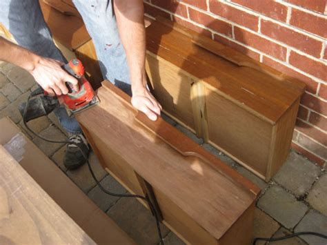 sanding and staining wood table veneer wood furniture refinishing exterior wood designs