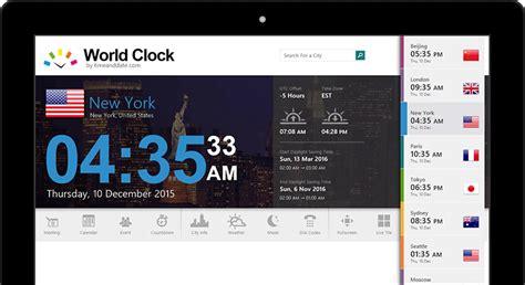 world clock windows