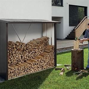 Buche De Bois Compressé Brico Depot : abri b ches m tal biohort woodstock 2 7 st res gris fonc ~ Dailycaller-alerts.com Idées de Décoration