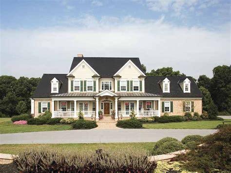 big farm house home plan homepw07287 3163 square 4 bedroom 3
