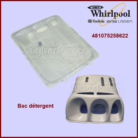 bac a detergent lave linge bac d 233 tergent 481075258622 pour machine a laver lavage pieces detachees electromenager