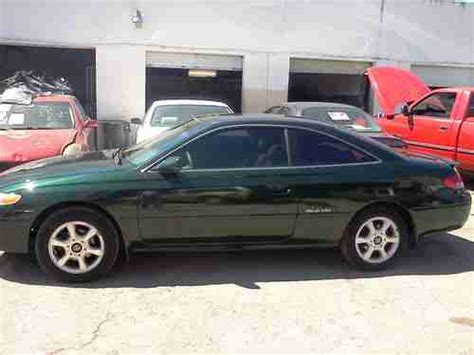 how petrol cars work 1999 toyota solara seat position control sell used 1999 toyota solara sle coupe 2 door 3 0l in miami florida united states for us