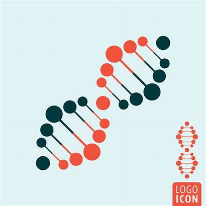 Dna Icon Isolated Vector Illustration Vectors Helix