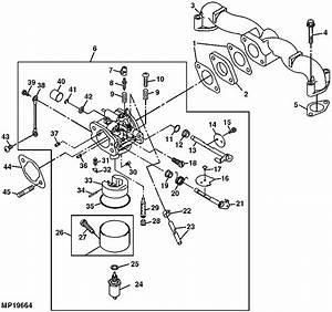 35 John Deere La115 Carburetor Diagram