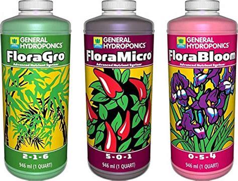 general hydroponics flora grow bloom micro combo