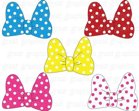 minnie mouse bow clip art    cliparts