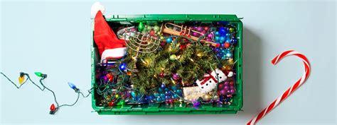 ridiculously easy holiday decoration storage hacks