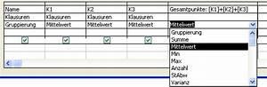 Mittelwert Berechnen Statistik : tutorial access berechnungen ~ Themetempest.com Abrechnung