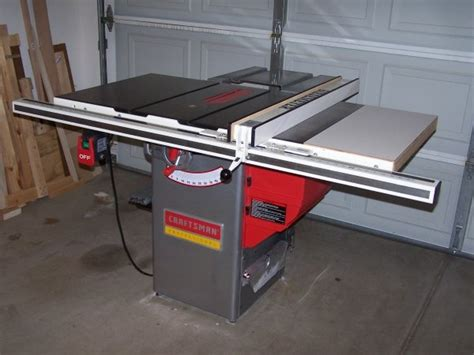 craftsman professional cabinet saw craftsman table saw review craftsman saw 10 in jobsite
