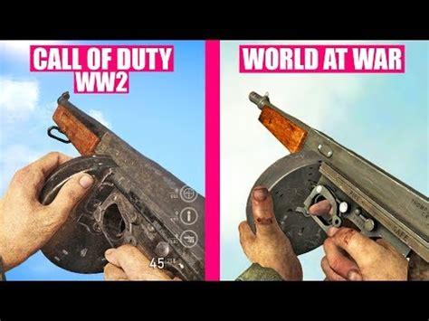 call  duty ww guns reload animations  call  duty