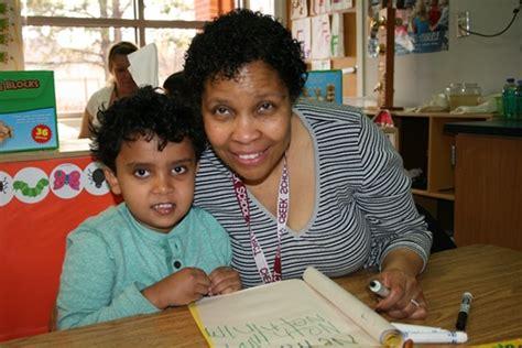 february is preschool roundup in cherry creek schools 323 | 499 Student and teacher smiles
