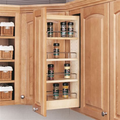 Rev A Shelf Spice Rack Pull Out by Rev A Shelf 448 Wc 5c 448 Wc Series 5 Quot Wall Pull