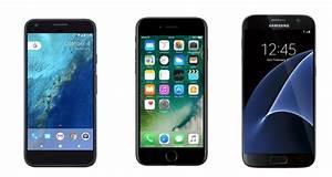 Iphone 7 Comparatif : comparatif le google pixel face au samsung galaxy s7 et l 39 iphone 7 d 39 apple frandroid ~ Medecine-chirurgie-esthetiques.com Avis de Voitures
