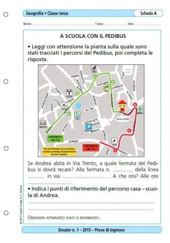 Prove D Ingresso Italiano Classe Terza Scuola Primaria Prove D Ingresso Geografia Classe 3 La Vita Scolastica