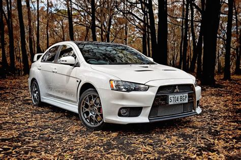 Mitsubishi Lancer Evolution 'final Edition' On Sale From
