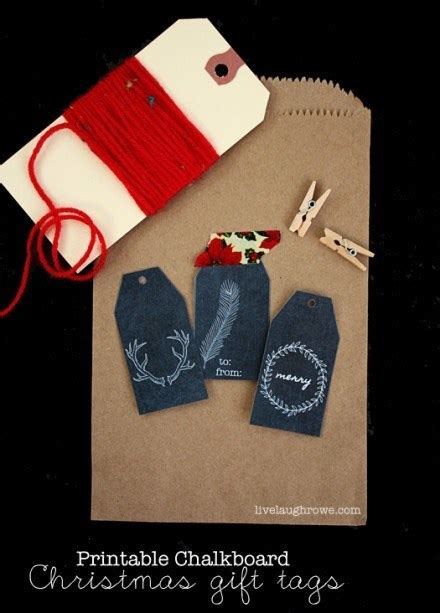 freebie printable chalkboard christmas gift tags scrap
