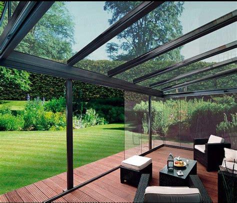 glass enclosed deck home decks