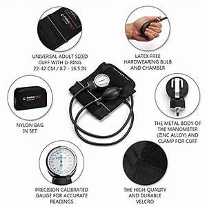Professional Manual Blood Pressure Cuff  U2013 Aneroid