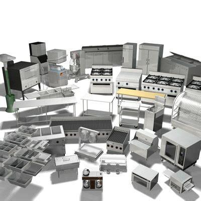 3d Commercial Kitchen Equipment Vol 1
