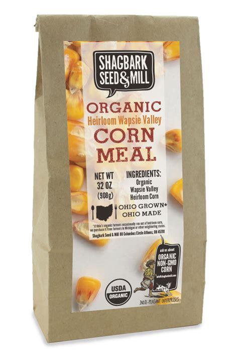 Organic Corn Meal  Shagbark Seed & Mill