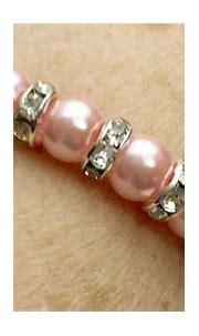 Think pink pearl bracelet by BeadedBraceletBazaar on Etsy ...