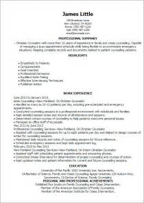 christian resume cover letter professional christian counselor templates to showcase your talent myperfectresume
