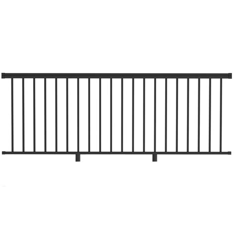 Cable Balcony Railing by Shop Freedom Assembled 8 Ft X 3 Ft Versarail Black