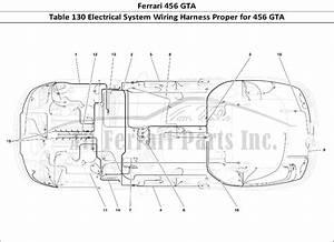 Buy Original Ferrari 456 Gta 130 Electrical System Wiring