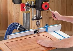 Rockler 53648 Drill Press Fence - Contractor Supply Magazine
