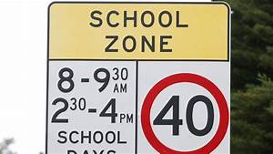 Warning to slow down: School zones back in effect from ...