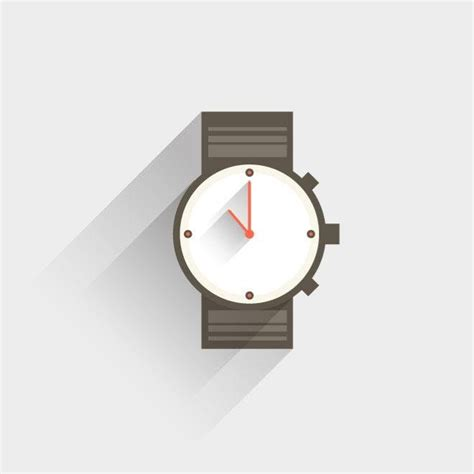 Library of wrist watch vector graphic black and white png ...